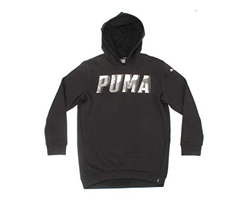 PUMA PUMA Mädchen Style Hoody G Sweatshirt, Cotton Black, 164