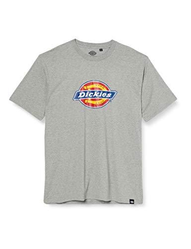 Dickies Herren Horseshoe Tee Men T-Shirt, Grau (Grey Melange Gym), XX-Large