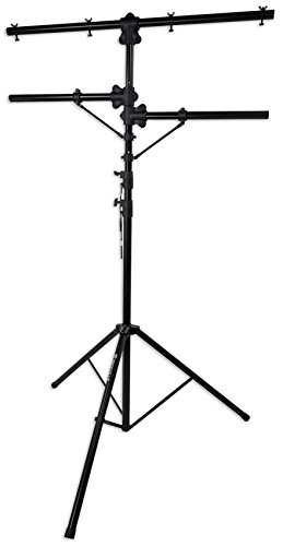 Rockville RVLS1 12' Ft Tripod Lighting Tree Stand w/Side Bars - 110lb Capacity