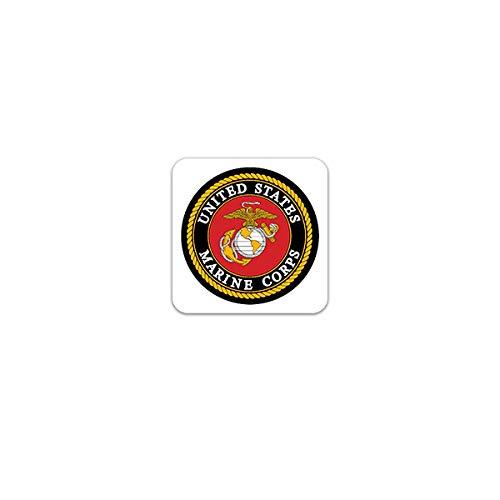 Semper FI Vinyle autocollant Decal Militaire Marines Fidelis-Choisir Taille /& Couleur