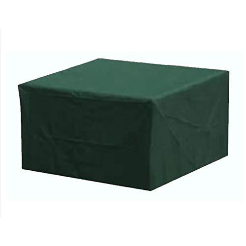 BWBG Fundas para Mesas De Terraza, Cubierta De Mesa De Patio Funda para Muebles Impermeable Prueba De Viento Funda Protectoras Muebles Jardin- 308 * 138 * 89cm