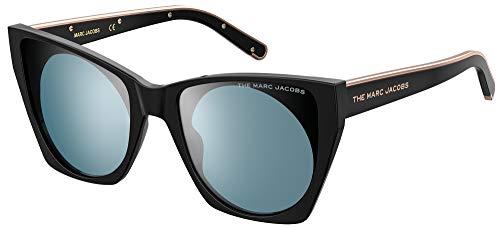 Marc Jacobs Marc 450/G/S Gafas, Black/Blue, 55/20/140 para Mujer