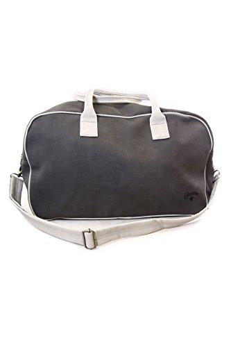 Converse Bag with Removable Strap Retro Gym 3IA030A de Piel Sintética color Metal, Diseño Vintage