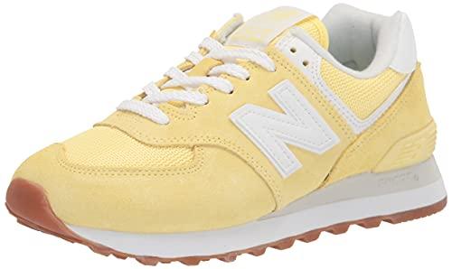 New Balance 574 Pastel Pack, Zapatillas Mujer, Lemon Haze, 41 EU