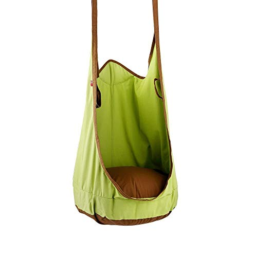 QING MEI-Balançoire QM Swing Portable Sacs for Enfants Fauteuils / Sièges / Fauteuils À Bascule / Ensembles De Hamac Crochets Et Cordes for L'intérieur Et L'extérieur (Vert)