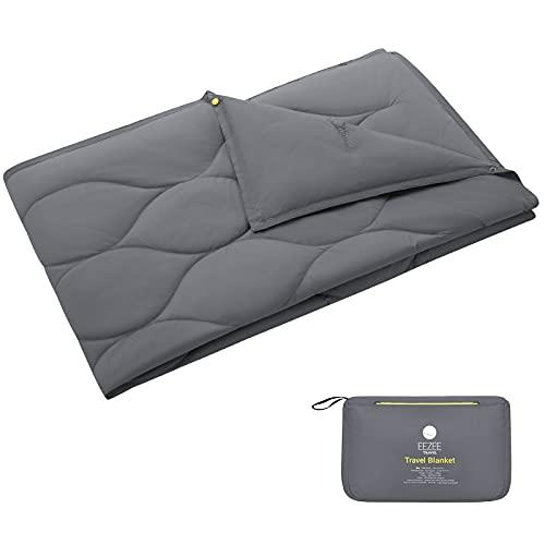EEZEE Multipurpose Lightweight Compact Travel Outdoor Blanket, Warm Down...