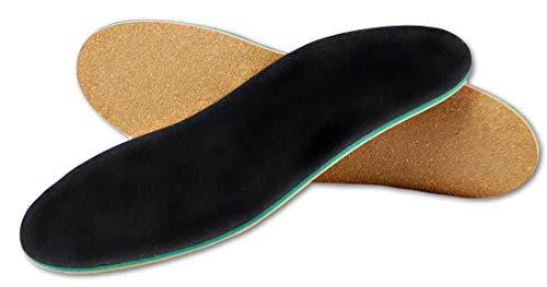 Green Feet Orthopädische Einlegesohle für Senkfuß I 43-44 Schuheinlage bei Knickfuß, Spreizfuß und Fersensporn I Neutral Arch Gewölbe
