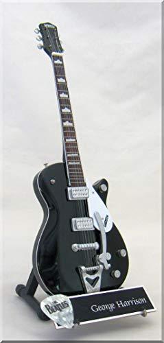 George Harrision - Guitarra en miniatura DUO JET con etiqueta de nombre