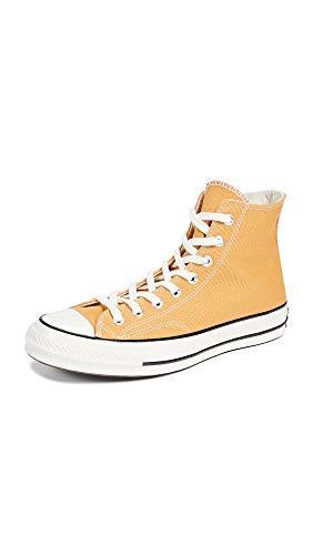 Converse Unisex-Erwachsene Taylor Chuck 70 Hi Sneakers, Mehrfarbig (Sunflower/Black/Egret 721), 39 EU