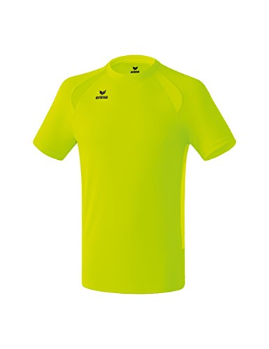 Erima Kinder Performance T-Shirt, neon gelb, 164