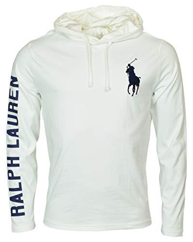 Polo Ralph Lauren Herren Langarm Graphic Jersey Hoodie - Weiß - XX-Large