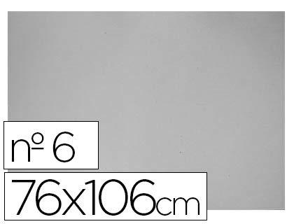 Cartón Gris nº 6 76x106cm (5 ud.)