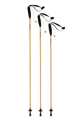 Ferrino Eiger, Bastoncini da Trekking Unisex, Arancione, 135 cm