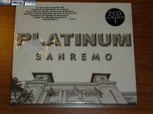 Platinum Sanremo (2003) doppio cd