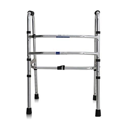 ZXL Standard-Gehhilfen \u0026 Gehhilfen Gehhilfen Ältere Kinder Gehhilfen Verstellbarer Gehstock Gehhilfe Rehabilitations-Gehhilfen Behinderte Ältere Vier-Fuß-Gehhilfen
