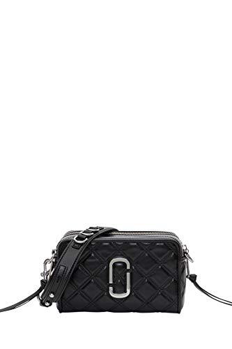 Marc Jacobs Luxury Fashion Damen M0015419001 Schwarz Leder Schultertasche | Herbst Winter 20
