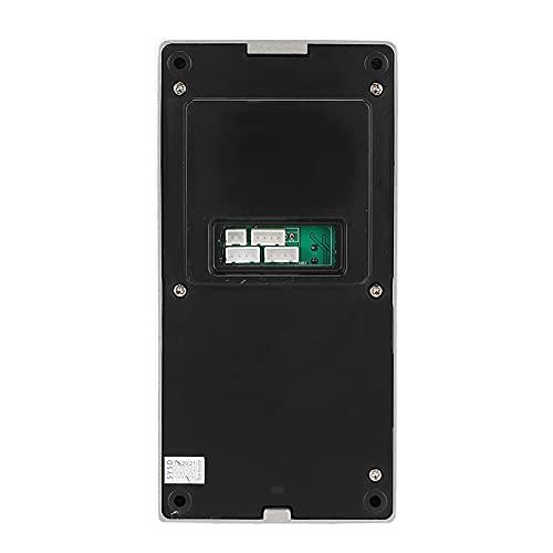 Función de Video WiFi Portero automático, 64g Tarjeta de Memoria 720P Pantalla táctil 3 Monitores Portero(European regulations)