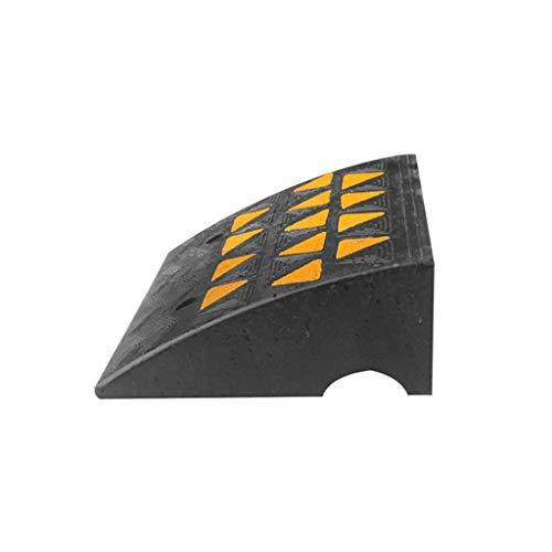 Rampas for vehículos, multifunción de goma antideslizantes rampas garage del coche rampas de Estacionamiento en carretera Jardín carretilla Rampas (Size : 49.5 * 37 * 15.5CM)