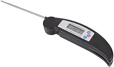 Termómetro Digital De Alimentos Sonda Temperatura Cocina Cocina BBQ Carne Pavo - Negro