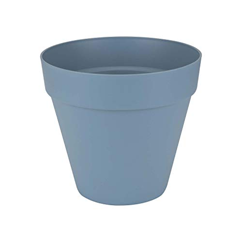 Loft urban pot de fleur rond - 50 cm - bleu vintage
