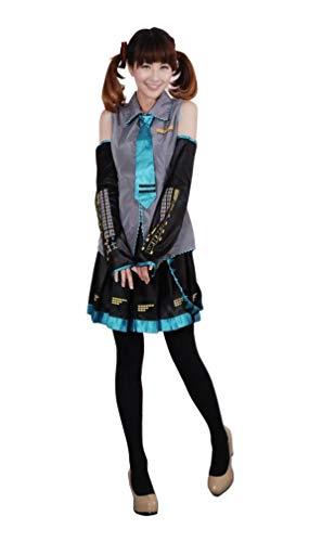 Agaruu Vocaloid Hatsune Miku Cosplay Traje Completo Conjunto de Marinero Uniforme Estilo