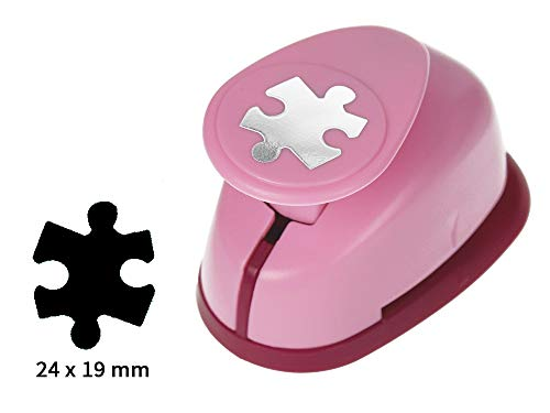 Sescha Motivlocher/Papierstanzer Puzzle von EFCO - Größe M: 24x19mm