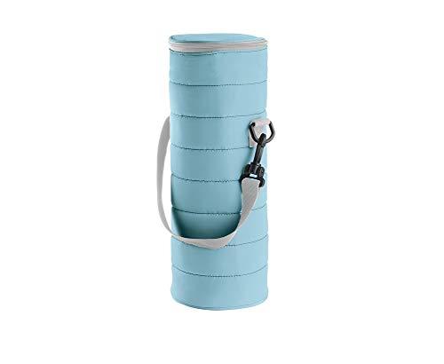 Guzzini Borsa Termica Bottiglia On The Go, Blu Opaco, 12 x h37 cm