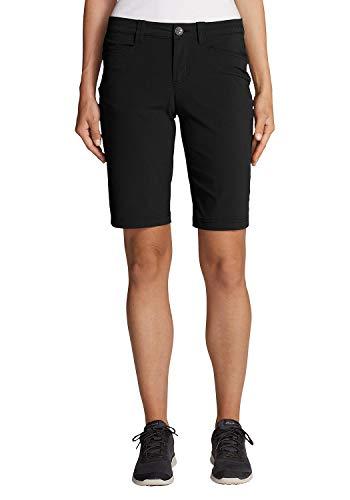 Eddie Bauer Damen Horizon Bermuda-Shorts, Gr. 6 (36), Schwarz