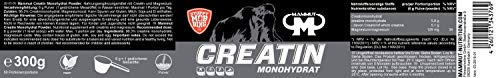 Mammut Creatin Monohydrat, magnesiumoptimiert, 300 g Dose - 2