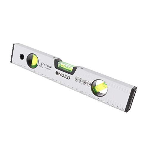 Horizontales Lineal, 300 mm, magnetische Wasserwaage, Messwerkzeug, 30,5 cm, 40,6 cm, 50,8 cm, 30cm, 1