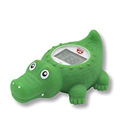 Doli Yearning Baby Bath Thermometer| Kids' Bathroom Safety Products| in Alligator Lovely Shape| All Available for Fahrenheit and Celsius|Floating|Temperature