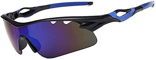 ZRDSZWZ Gafas de sol polarizadas para ciclismo y deportes, gafas de sol ultraligeras, gafas de sol para bicicleta, deportes al aire libre, gafas de seguridad, traje de exterior, morado (color: azul)
