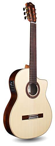 Cordoba GK Studio Negra Cutaway Flamenco Acoustic-Electric Nylon String Guitar, Iberia Series