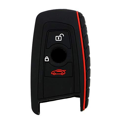 Auto-Styling Fernschlüsseloberteil Fob Silikon 3 Tasten Autoschlüssel Fall Abdeckung Schlüssel Schützen Tasche Für BMW E30 E34 E36 E39 E46 F10 F11 F31