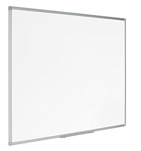 Bi-Office Earth - Pizarra Blanca Magnética con Marco de Aluminio, 120 x...