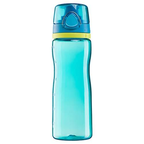 Xiaodou Outdoor Sportflasche aus Kunststoff tragbarer Sport Cup, Cup, Raum Cup, Tritan Material, Fitness, Reisen Cup, 700ML Versiegelt Auslaufsicher Wasserflasche
