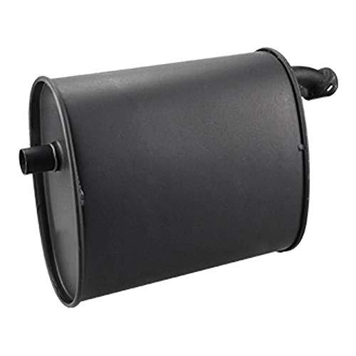 Tiamu Generador de Gasolina Universal Negro Iron 2-3KW Silenciador de Escape para 5.5HP 6.5HP 3500W 4000W Accesorios