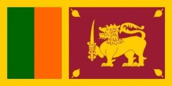 Flagge Sri Lanka, 150 x 90 cm