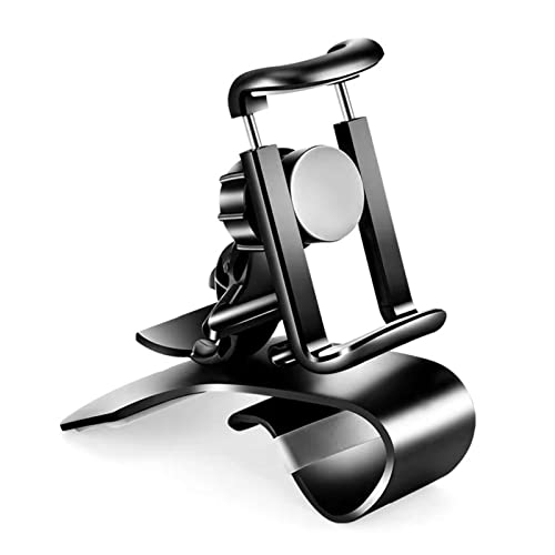 LESANGBAIHUODIAN Teléfono celular de rotación universal 360 GPS Tablero de instrumentos del teléfono del tablero del coche Soporte del soporte HUD Soporte en el soporte del teléfono de la cuna