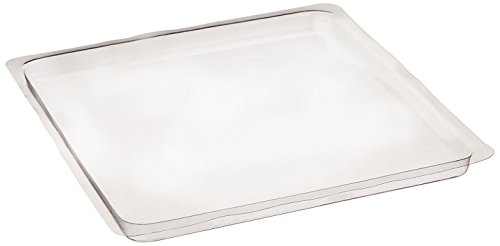 School Smart Ink-Mixing Tray, 6-1/2 X 6-1/2 in, Plastic, Clear, Pack of 10
