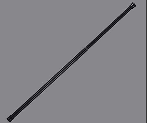 HLWC Baño Ducha tensión Barra de la Cortina, no profundizar Extensible telescópica Polo for la Cocina Dormitorio Ventana de la Puerta balcón baño y Ducha (Color : A, Size : 60-110cm(24-43inch))