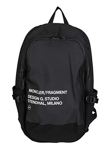Moncler Luxury Fashion Herren 5A7000002SLR999 Schwarz Polyester Rucksack | Herbst Winter 20