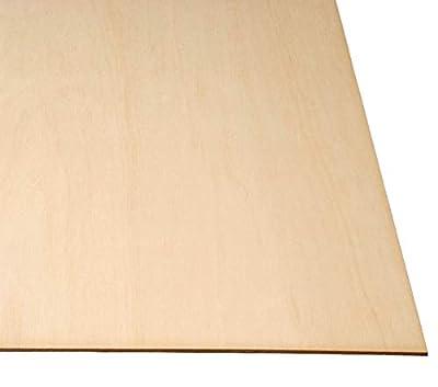 """Baltic Birch Plywood 1/8"""" x 24"""" X 24"""" by WOODNSHOP"""