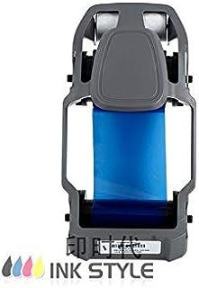 800300-804 الشريط الأزرق 1000Prints للاستخدام في طابعة بطاقة zbra ZC300 ZC350