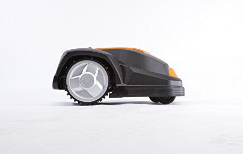 YardForce SA600H Mähroboter - Selbstfahrender Rasenmäher Roboter mit Begrenzungsdraht & Touch Display - Akku Rasenroboter für bis zu 600m² Rasen & 50% Steigung - 6