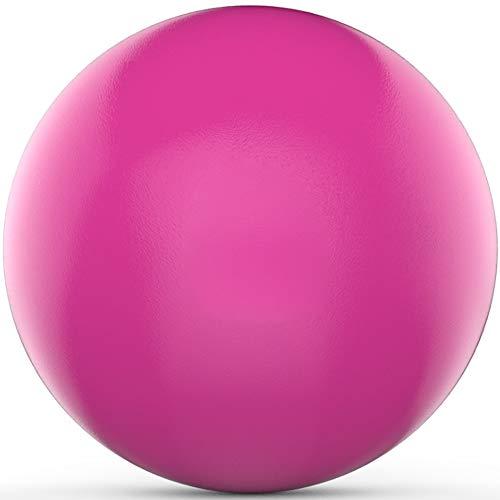 Yoga Swiss Ball Mit Handpumpe, Einfach Auszuführen Jedes Yoga, Pilates Oder Allgemeinen Kraft- Und Balancetraining Verschiebt, Für Schwangerschaft, Geburt Und Weight Loss Exercise,Rosa,55cm