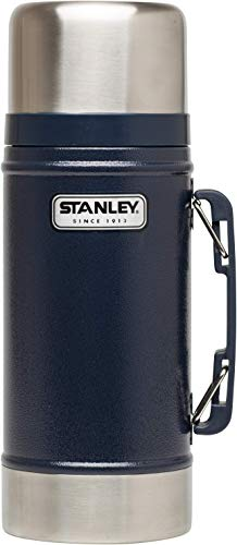 Stanley Legendary Classic Vakuum-Speisebehälter 0.7 L, 18/8 Edelstahl, mit Becher, Auslaufsicher, Food Container Thermobehälter Lunchbox