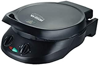 Arshia PM1182524 6 in 1 Pizza Maker, Black, 1800W, Cook,Bake,Toast,Sear,Grill,Steam,Non Stick, Dual Surface Grill,18months...