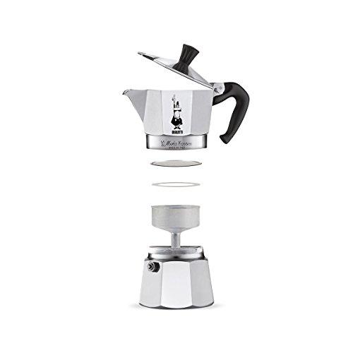 Bialetti Moka Express Aluminium Stovetop Coffee Maker (18 Cup)
