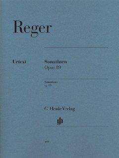 SONATINEN OP 89 - arrangiert für Klavier [Noten / Sheetmusic] Komponist: REGER MAX